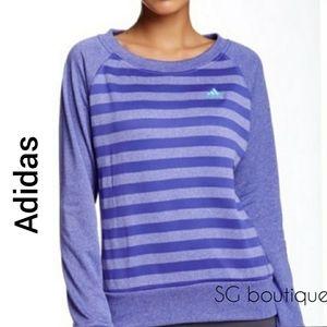 🆕⭐ Adidas striped sweatshirt